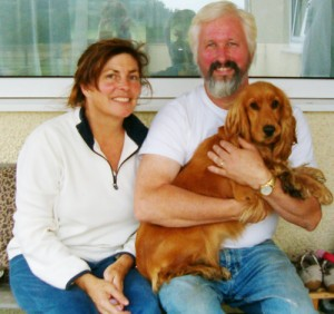 Rex and Alaea Beynon of Polarity Wellness, Gower, Wales